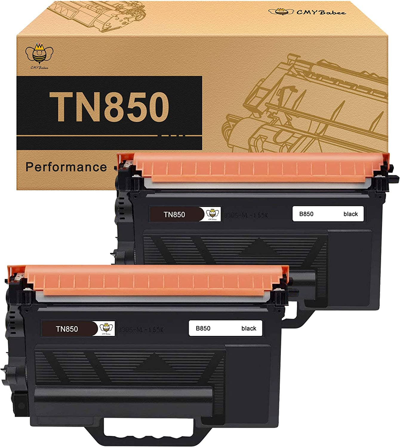 TN-850 MFC-L5850DW MFC-L5900DW MFC-L6700DW 4pk Toner Reset Gear for Brother
