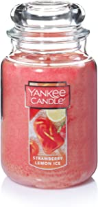 Yankee Candle Large Jar Candle Strawberry Lemon Ice