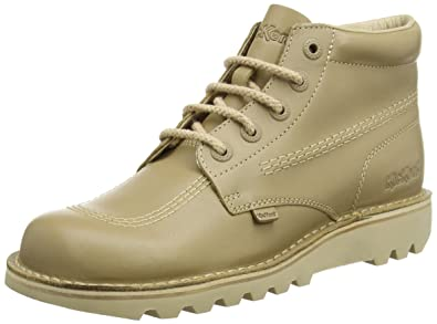 Kickers Kick Hi, Stivaletti Uomo, Brown (Light Tan), 47 EU