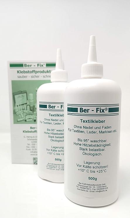 Ber Fix Textilkleber Lederkleber 1liter Für Bekleidung Sofa