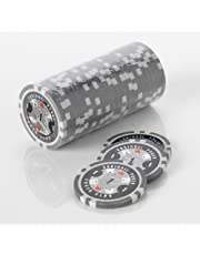 Squirrel Poker 15G Poker Chips - Design Poker Club 15G Poker Chips Colour = Grey, Value = $1