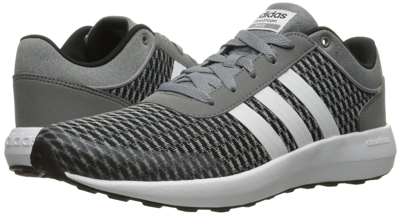 timeless design 2fec9 3f1ed Zapatillas de running adidas Neo para hombre Cloudfoam Race Negro   Blanco    Gris