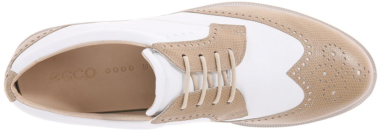 ECCO Women's Classic Hybrid Golf M Shoe B010RX13NW 37 EU/6-6.5 M Golf US Sand/White a1df5d