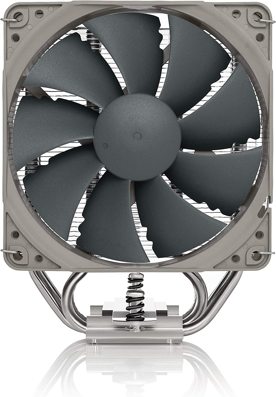 Grau Hochleistungs-CPU-K/ühler mit NF-P12 redux-1700 PWM 120mm L/üfter Noctua NH-U12S Redux