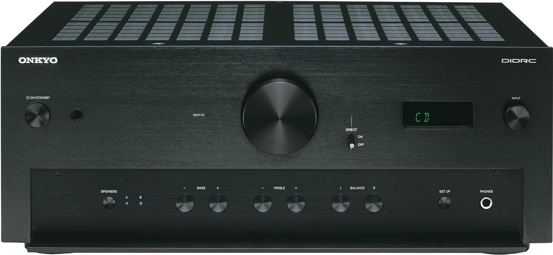 Onkyo A-9070 Stereo-Verstärker (2x 140 Watt, AWRAT, DIDRC, 3 ...