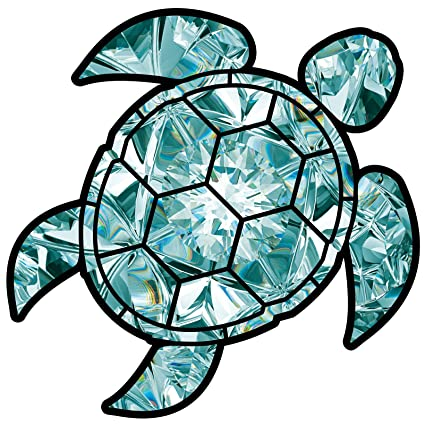 photo about Printable Sticker Vinyl named Aquamarine Sea Turtle Birthstone Decal March Print Sticker Vinyl Rear Window Car or truck Truck Computer system Gem Drive Mug Drinking water and Fade Resistant 2.5\
