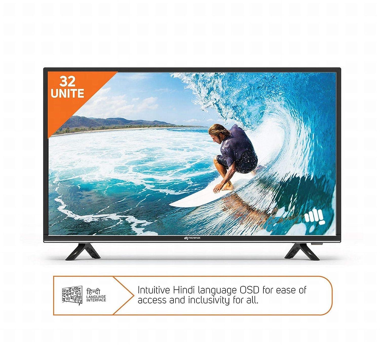e65083df1 Micromax 81 cm HD Ready LED TV 32T8361HD 32T8352D  Amazon.in  Electronics