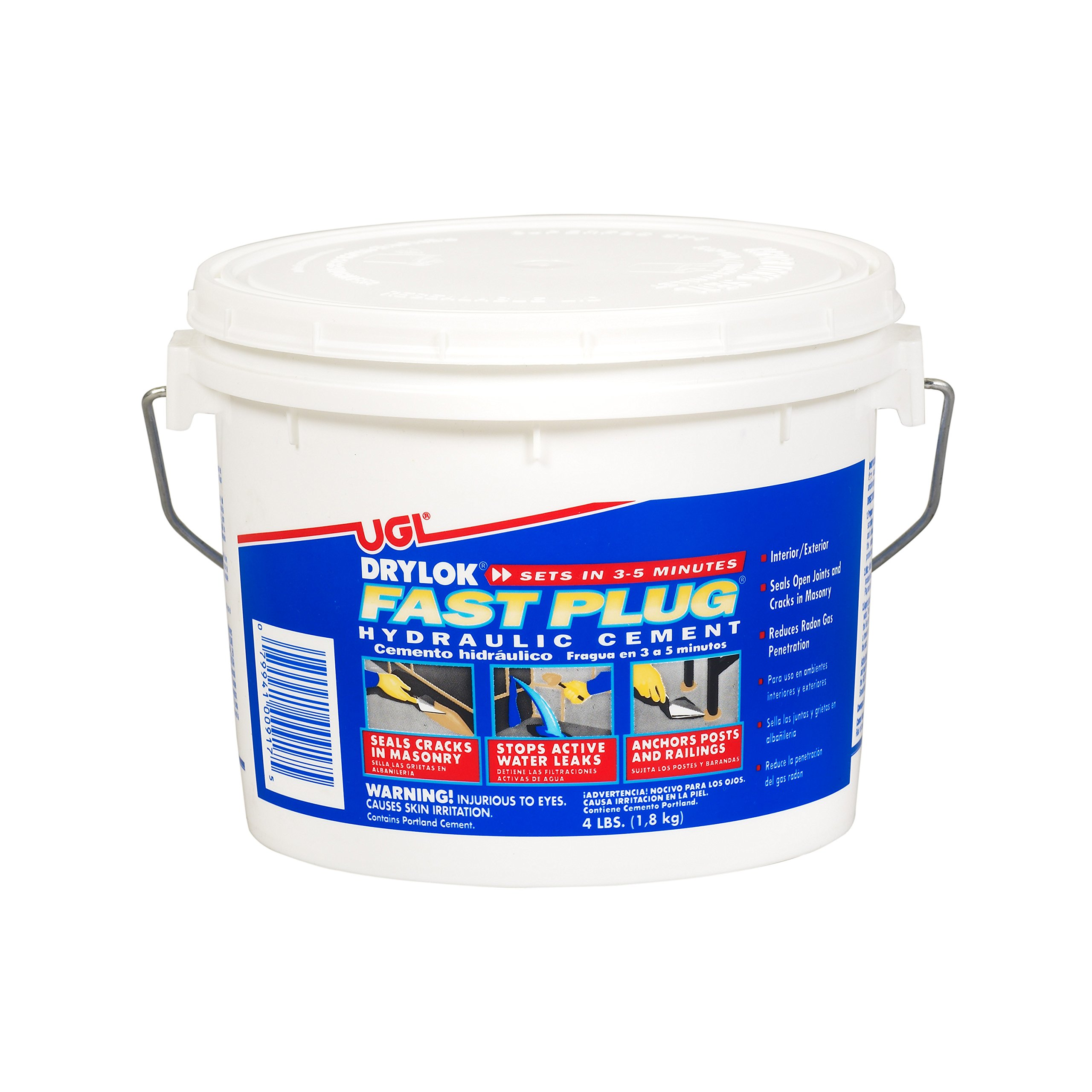 DRYLOK 00917 Cement Hydraulic WTRPRF, 4-Pound, Gray