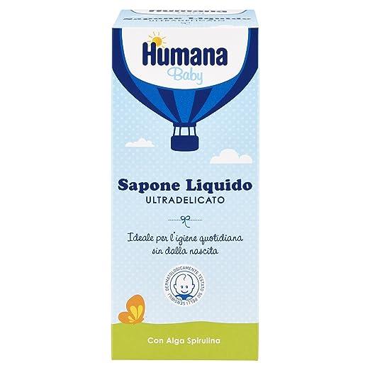 7 opinioni per Humana Soap Ultradelicato Sapone Liquido con Dosatore- 500 ml