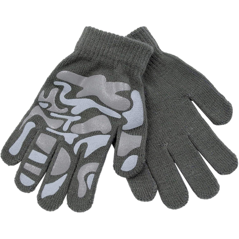 RJM, guanti aderenti Magic, per bambini, con design mimetico taille unique One size