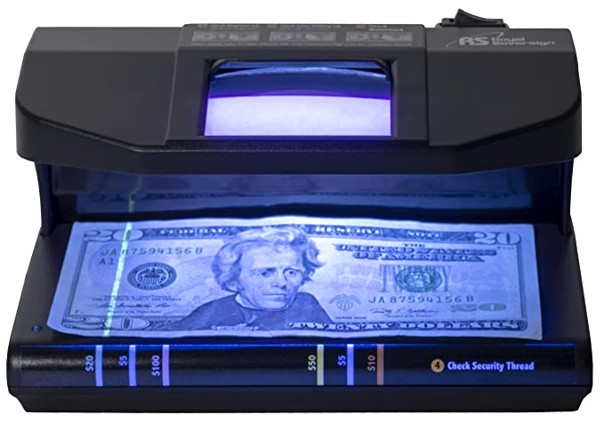 Amazon.com : Royal Sovereign 4-Way Counterfeit Detector, Ultraviolet, Magnetic, Watermark, and Micro-Print Counterfeit Detection (RCD-3PLUS) : Office ...