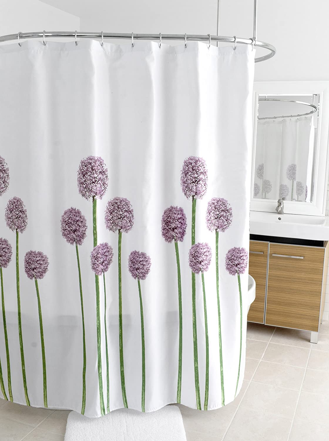 Incroyable Amazon.com: Splash Home Shower Curtain, 70 By 72 Inch, Allium: Home U0026  Kitchen
