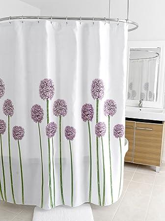 Splash Home Shower Curtain 70 By 72 Inch Allium
