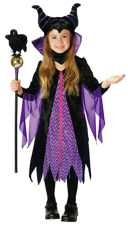 Disney Sleeping Beauty Marefisento Kids Costume Girl 100cm 120cm 95321s