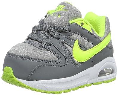 Nike AIR Max Command Flex (TD) Baskets pour Enfants, Gris