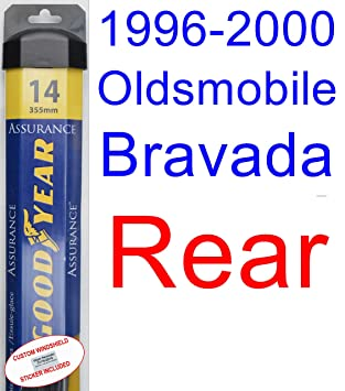 Juego de escobillas de repuesto para limpiaparabrisas Oldsmobile Bravada (1997-1998,1999): Amazon.es: Coche y moto