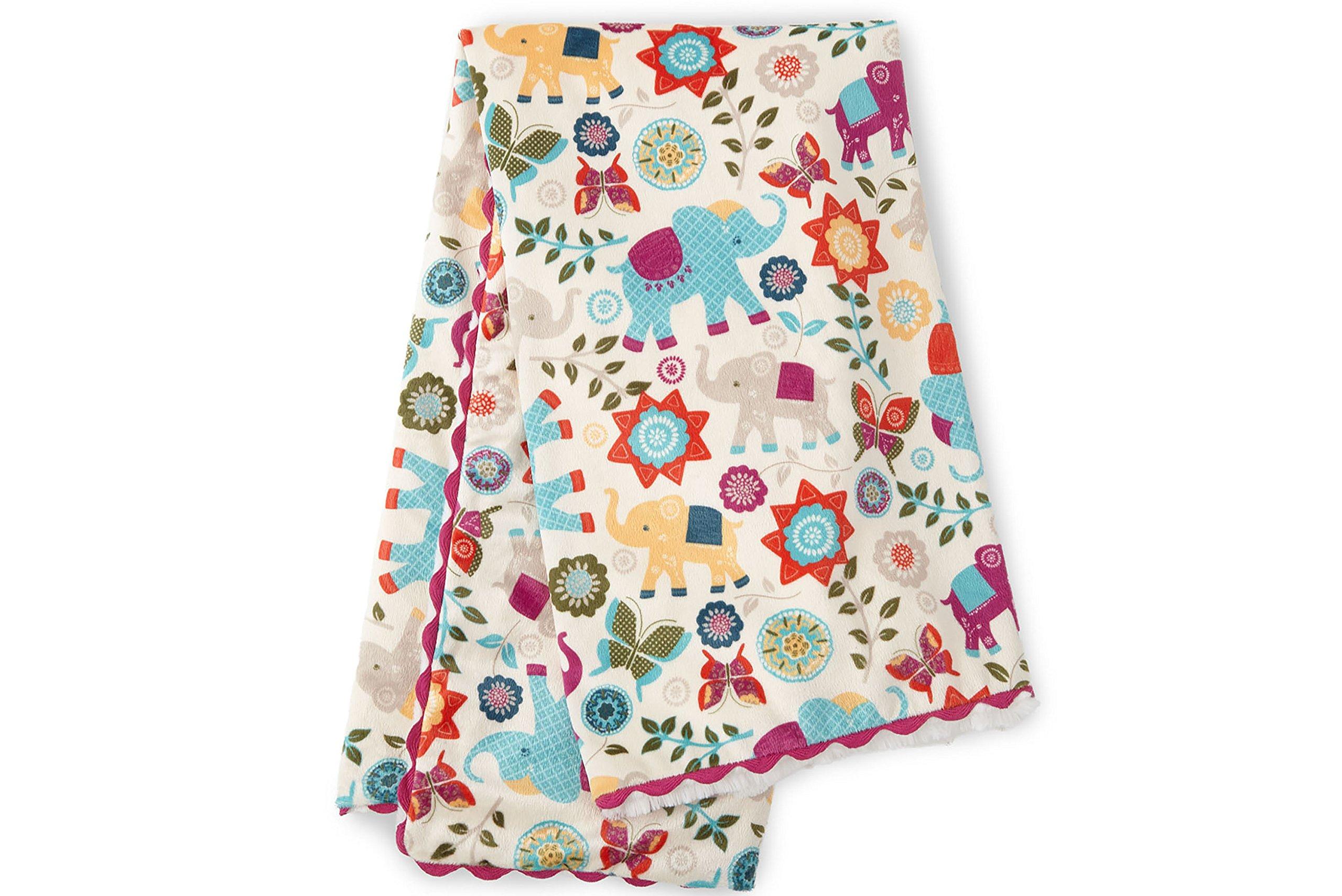 Levtex Home Baby Zahara Plush Blanket