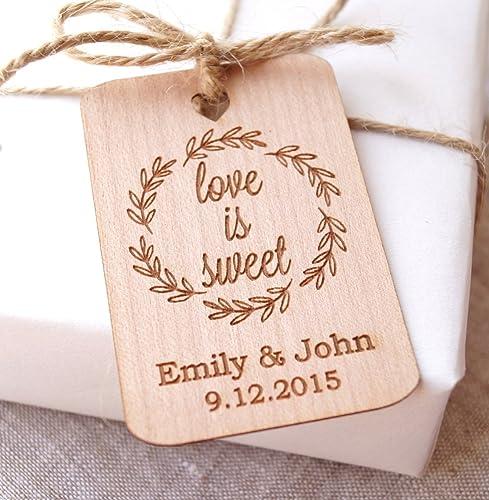 Amazon Love Is Sweet Wedding Favor Tags Wedding Favor Tags