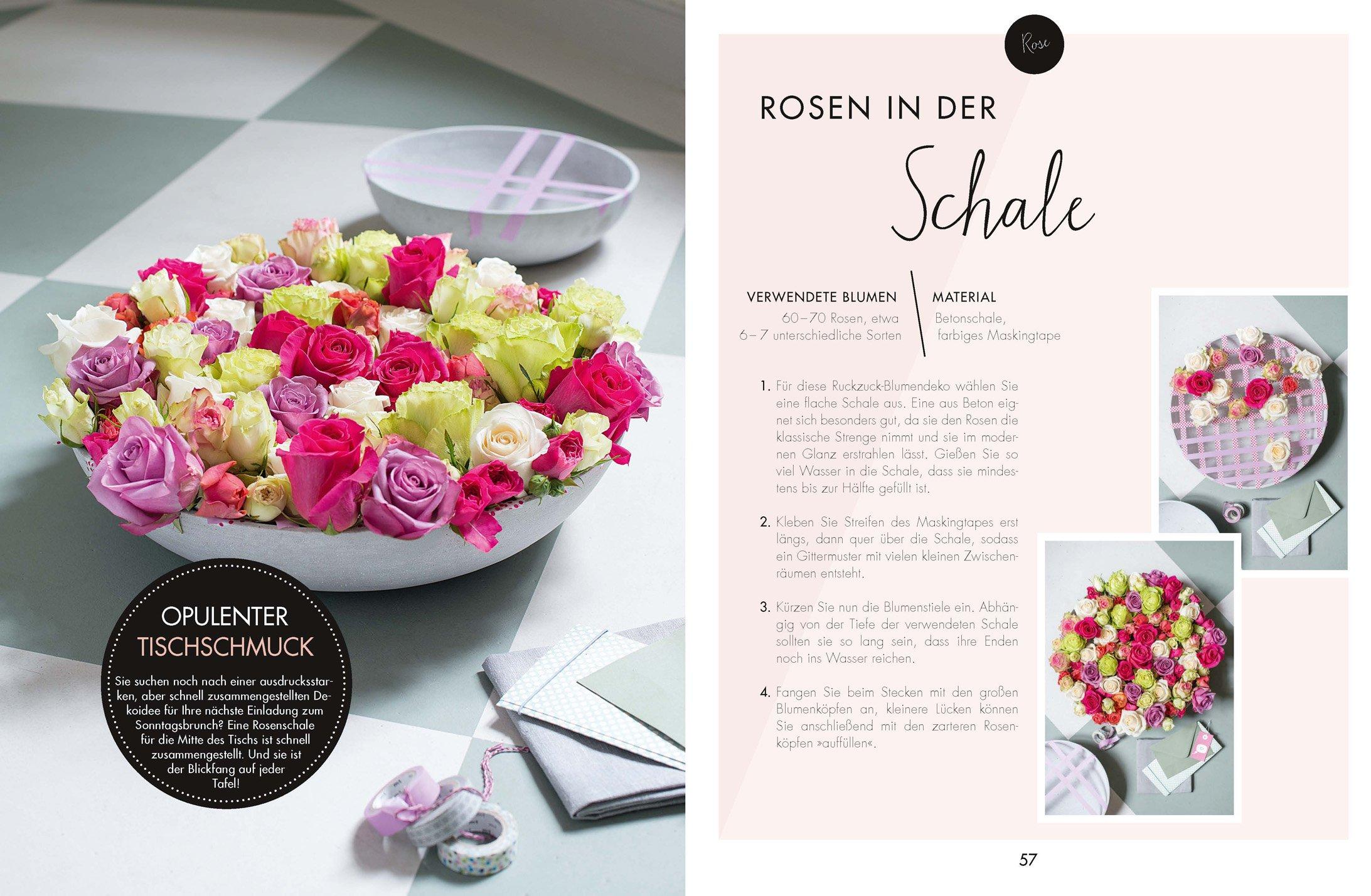 Dekoideen mit Schnittblumen: Arrangements und floraler Schmuck ...