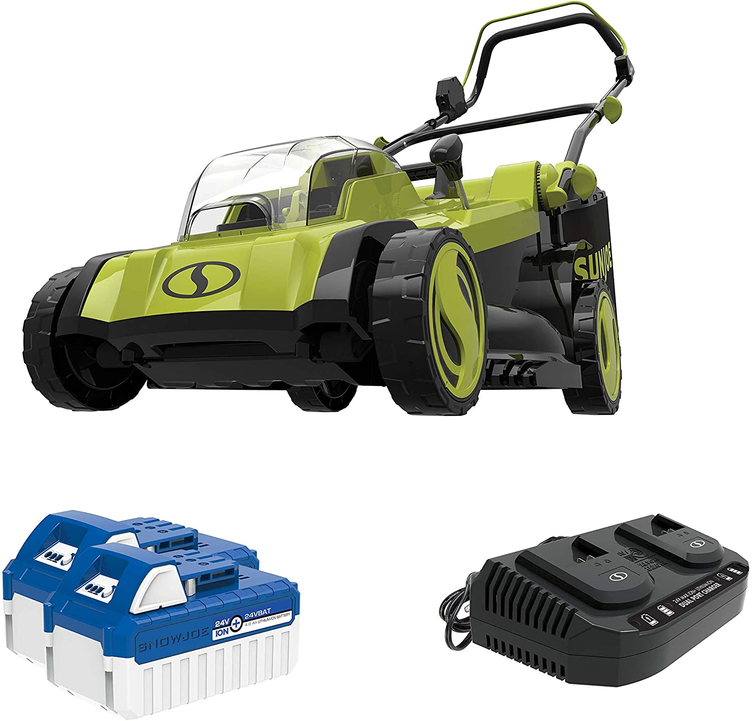 Sun Joe 24V-X2 Lawn Mower