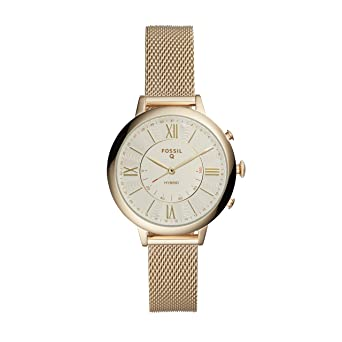 Fossil Q pour Femme Jacqueline Tons Or Acier Inoxydable Hybride Smartwatch Ftw5020