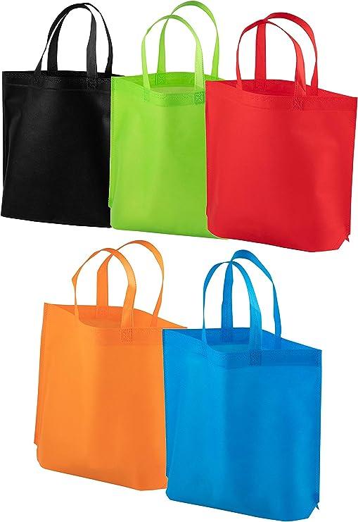 Amazon.com: Bolsas de regalo para fiestas con asas – Paquete ...