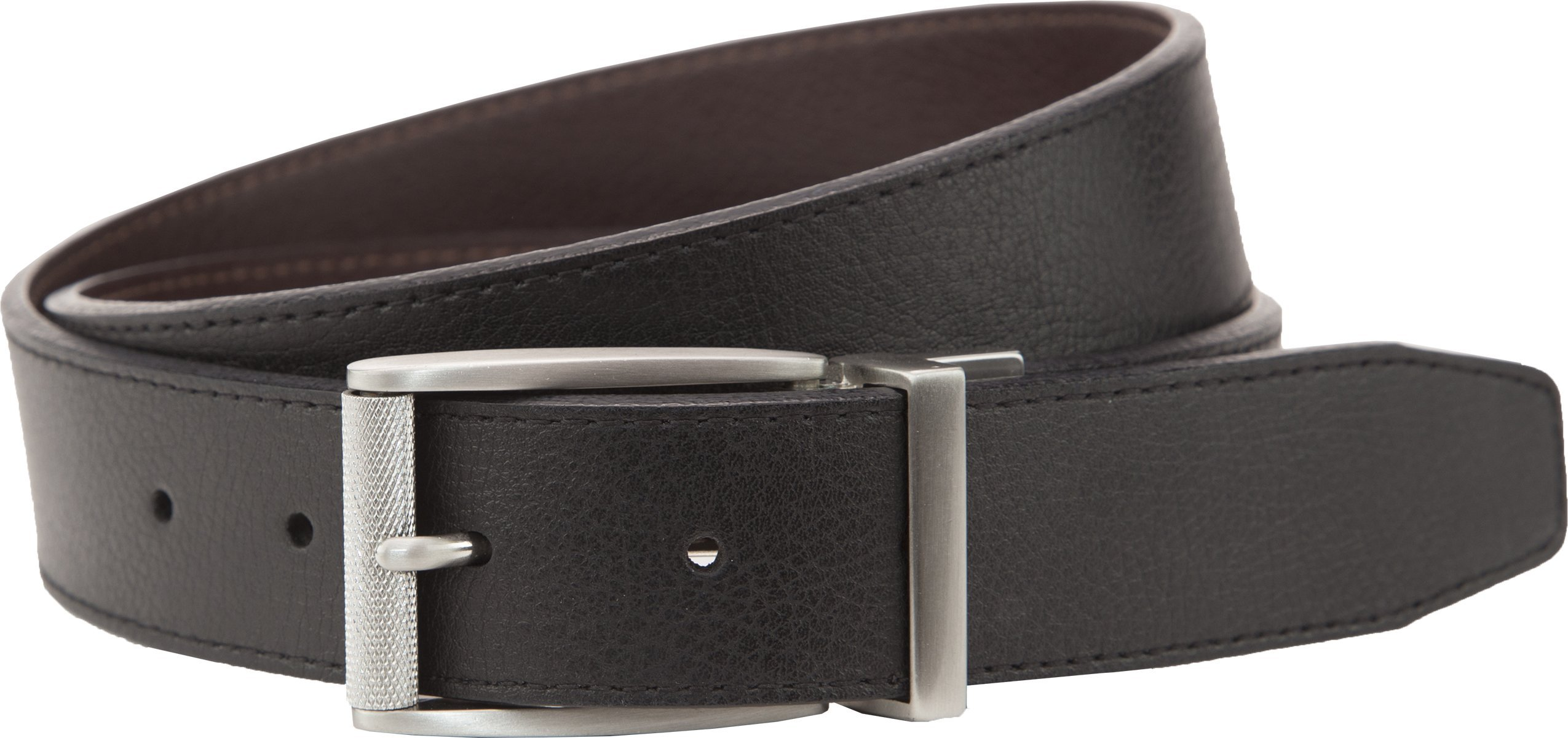NIKE Golf Classic Reversible Belt (Brown/Black, 42)