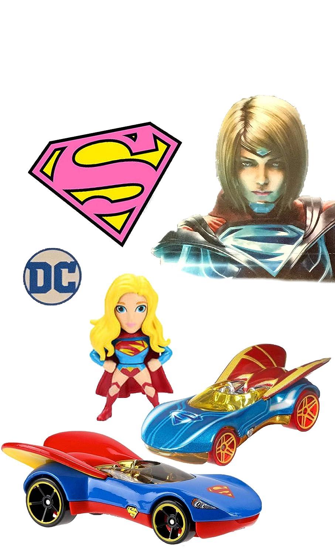 正規 スーパーガール フィギュア ホットホイール付き DC キャラクター カーズ スーパーヒーロー ガールズ 2.5インチ 不正 カーズ 2 プラス ジャダ ダイカスト 2.5インチ フィギュア B07G52X99Q, 箸屋助八:334afebc --- diceanalytics.pk
