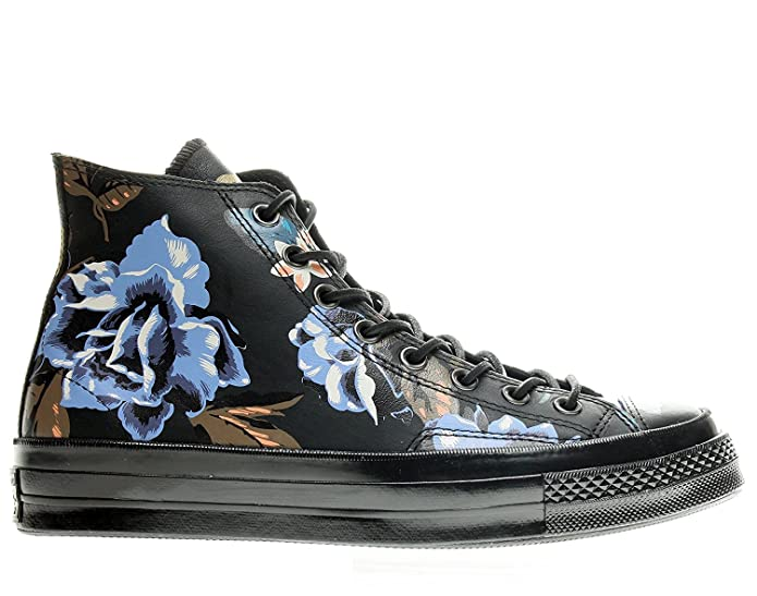 e6dec99607a1 Converse Chuck Taylor All Star 1970 High Top Sneakers 148575C Black Multi  Floral Print (7)  Amazon.co.uk  Shoes   Bags