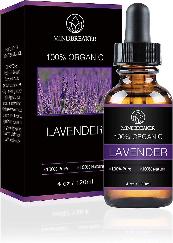 Aceite esencial de lavanda, Mindbreaker 100% el aceite esencial ...