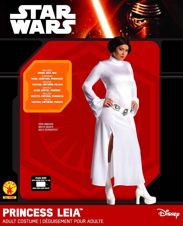 bcea0d4508c83 Amazon.com  Secret Wishes Star Wars Princess Leia Costume