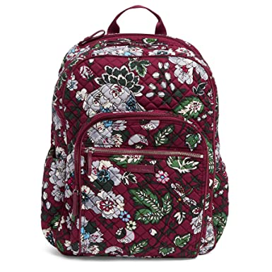 3e5ed83344fd Amazon.com  Vera Bradley Iconic Campus Backpack