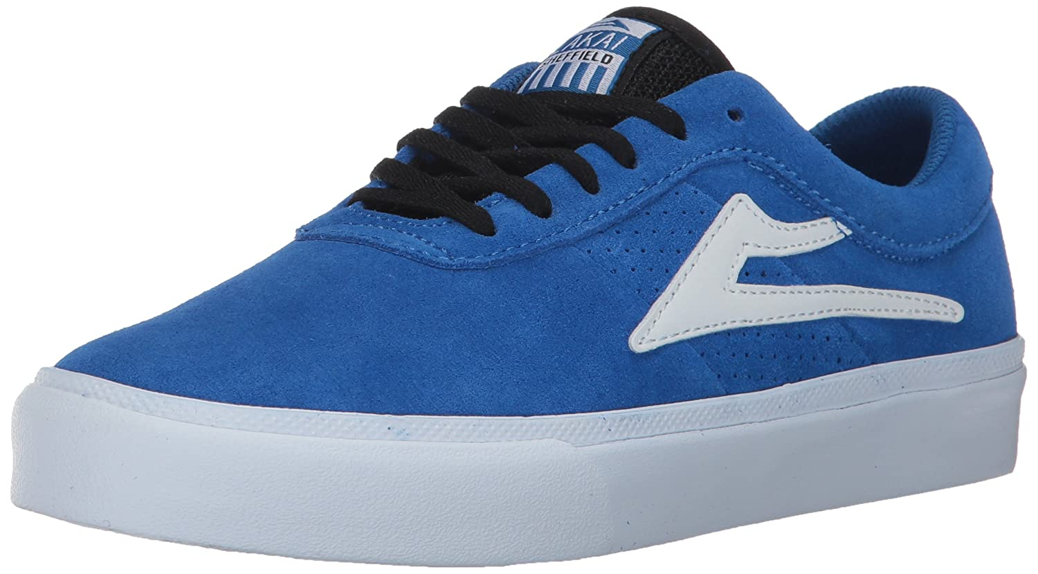 Lakai Sheffield Skate Shoe B01N33DMQG 12 M US|Blue Suede