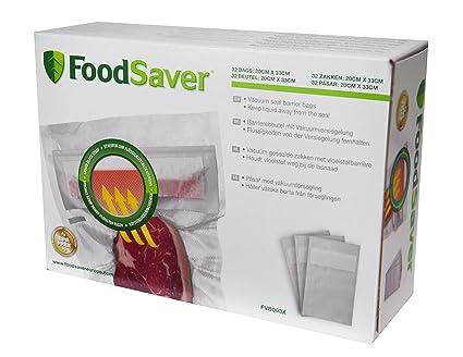 Foodsaver FVB003X, Bolsas Barrera de Envasado al Vacío, 32 ...