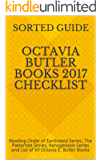 Octavia Butler Books 2017 Checklist: Reading Order of Earthseed Series, The Patternist Series, Xenogenesis Series and List of All Octavia E. Butler Books
