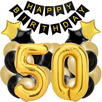 50th Birthday Decorations For The Best Party