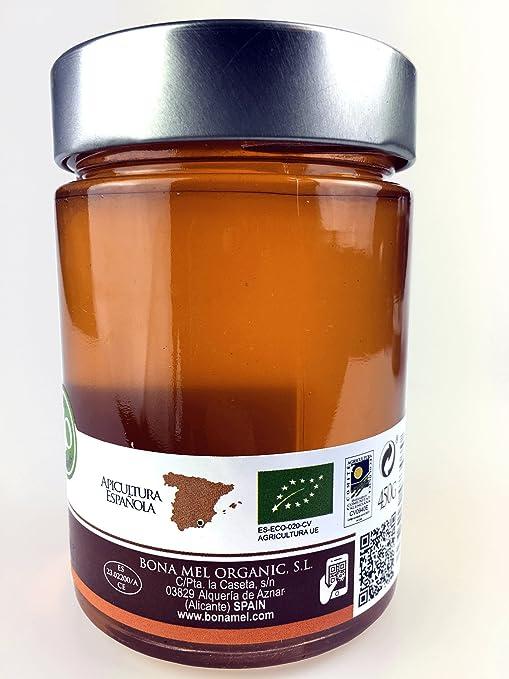 Bona Mel - Miel cruda ecológica de azahar: Amazon.es: Alimentación y bebidas