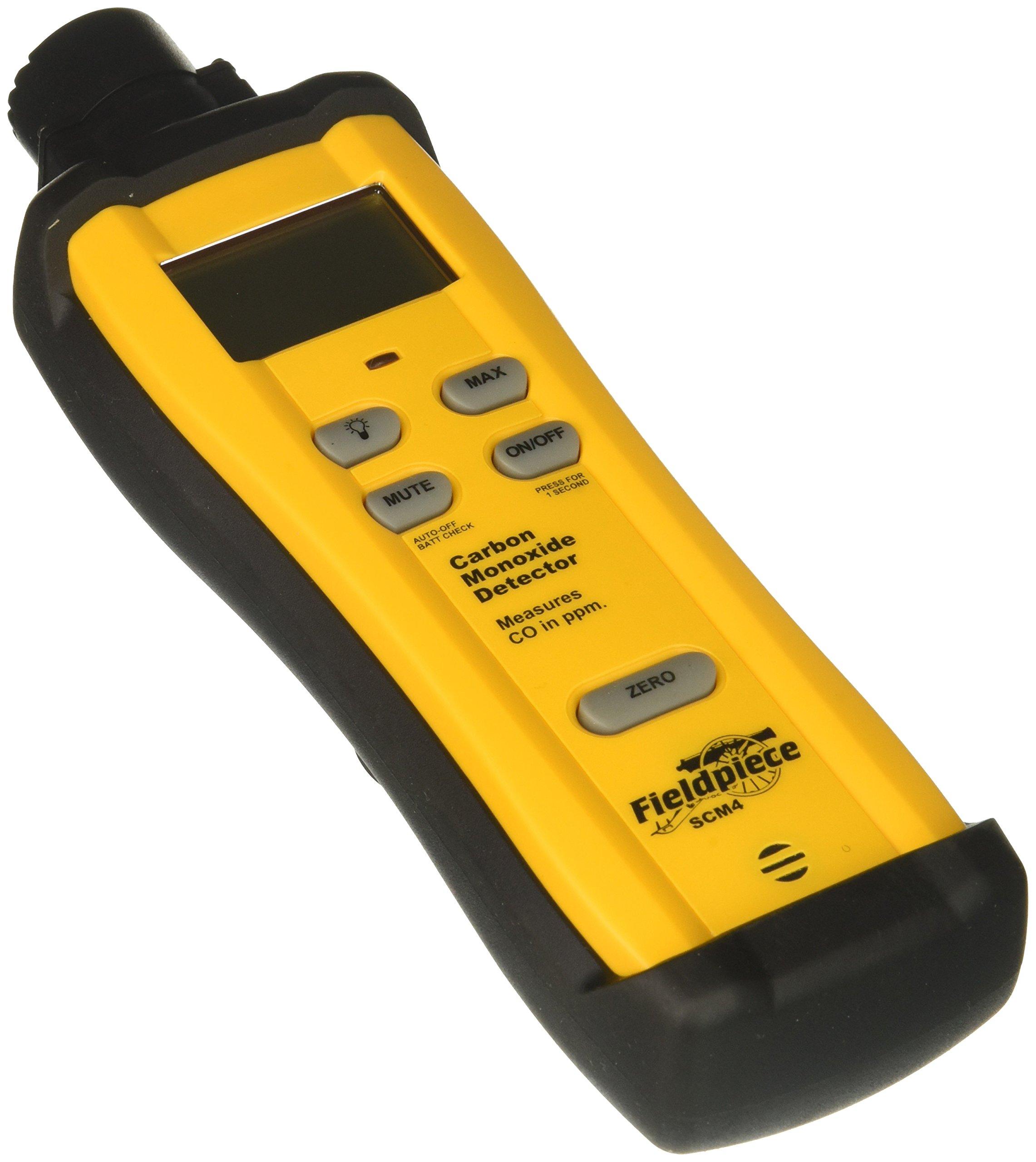 Fieldpiece SCM4 Carbon Monoxide Detector, 1-Pack by Fieldpiece