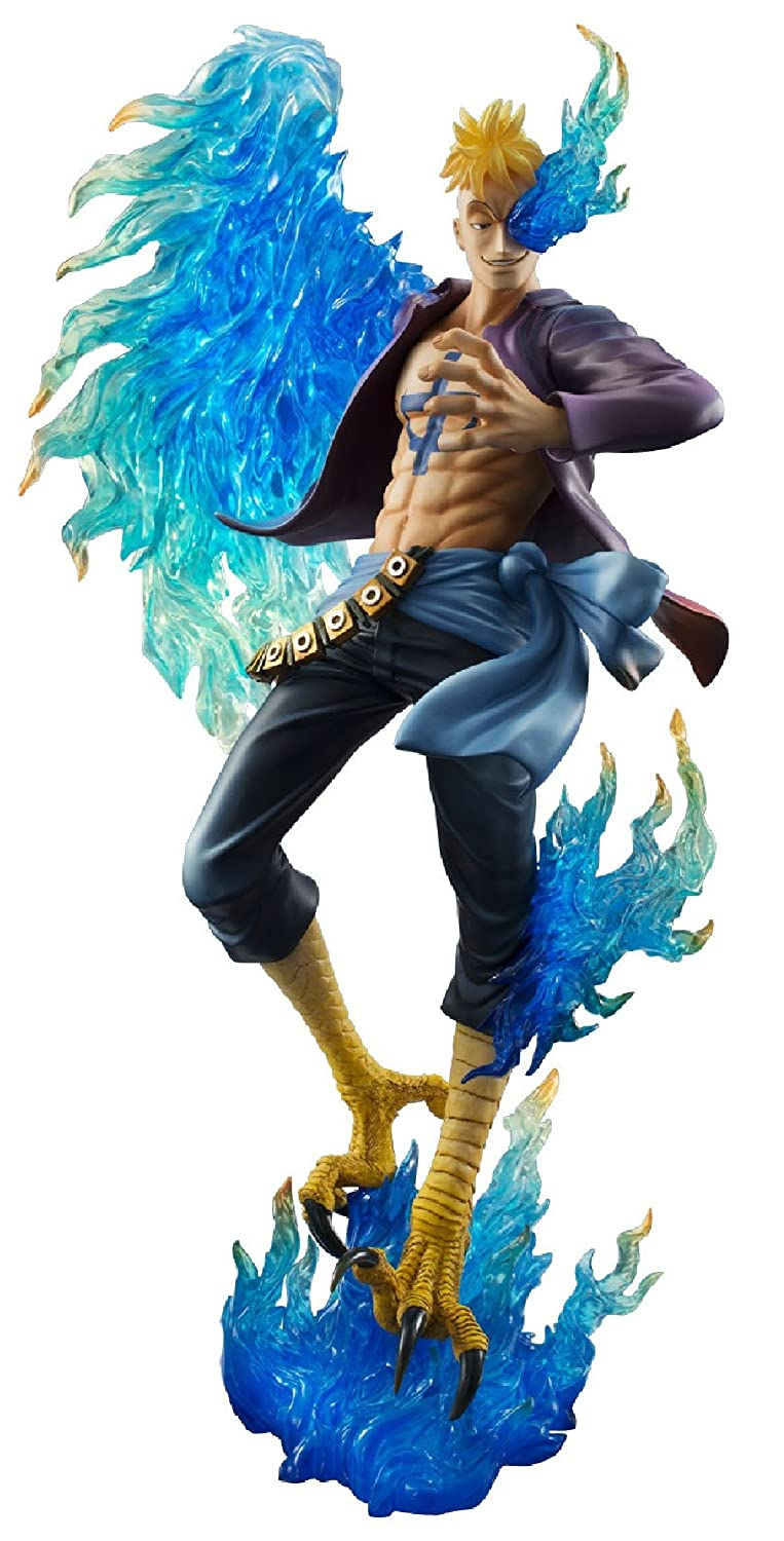One Piece Pop Marco The Phoenix Ex Model Mas PVC Figur