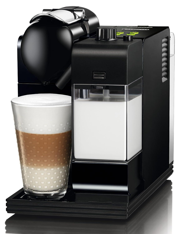 delonghi en520 b black nespresso lattissima plus coffee. Black Bedroom Furniture Sets. Home Design Ideas