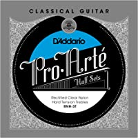 D'Addario RNH-3T Pro-Arte Rectified Clear Nylon Treble String Set