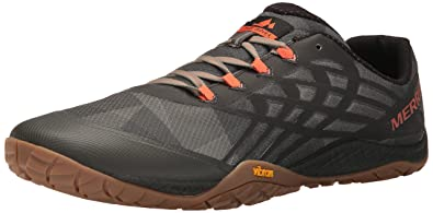 competitive price 6378c ad694 Merrell Glove 4, Chaussures de Trail Homme, Multicolore (Vertiver) , 40 EU