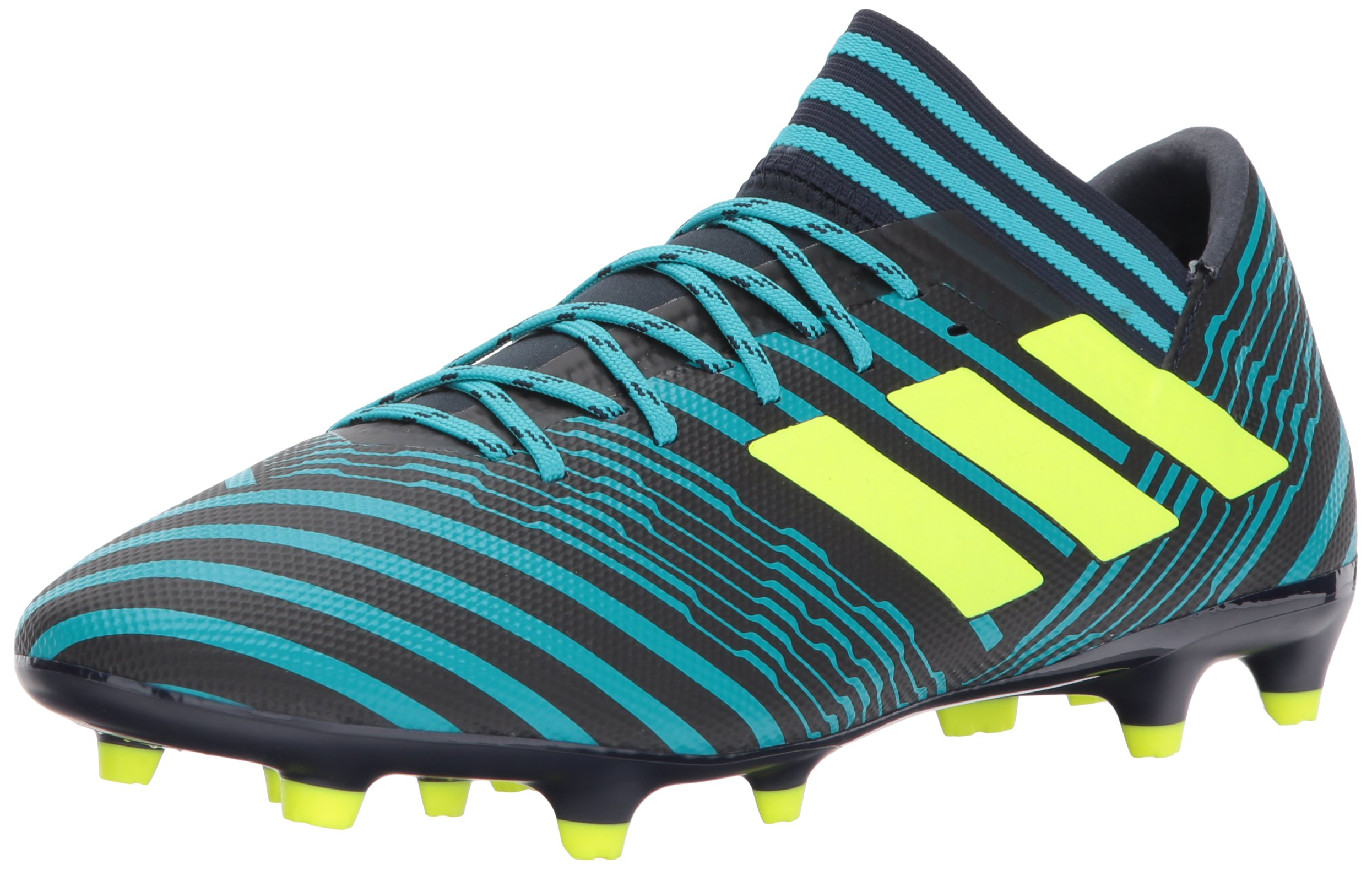 adidas Men's Nemeziz 17.3 FG Soccer Shoe, Legend Ink/Solar Yellow/Energy Blue, 10 Medium US