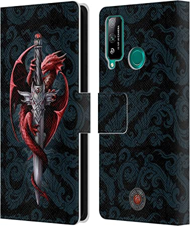Official Anne Stokes Yin Yang Protector Dragons Leather Book ...