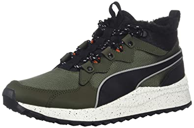 PUMA Men s Pacer Next SB WTR Sneaker Forest Night Black-Whisper White 9ea03ff59