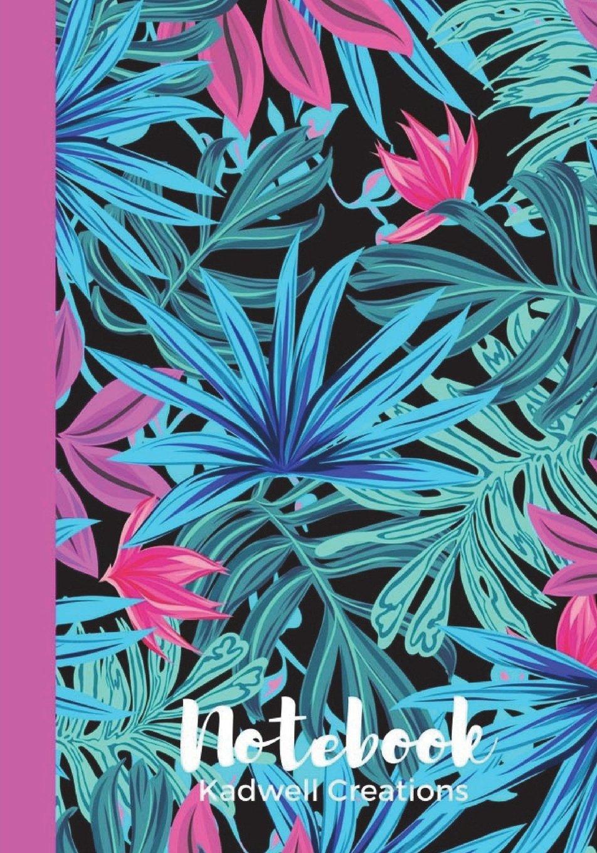 Notebook: Pink Tropical Garden Notebook & Journal for Girls pdf