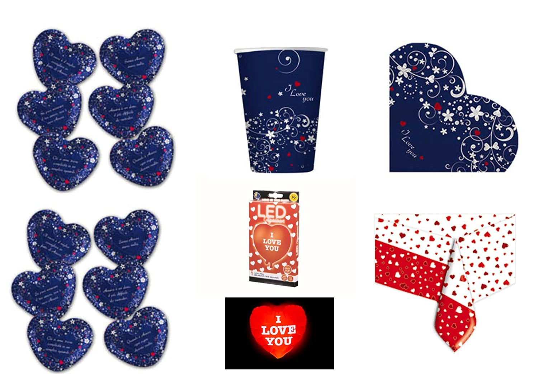 servilletas San Valentín