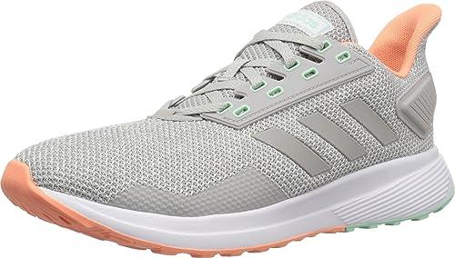 Adidas Duramo 9 - Playera para Mujer, Grey/Grey/Chalk Coral ...