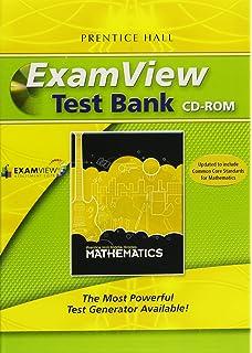 Amazon examview test bank algebra 1geometryalgebra 2 middle grades math 2010 examview assessment suite cd rom fandeluxe Gallery