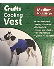 Crufts Pet Cooling Vest in Colour Box, Medium/Large
